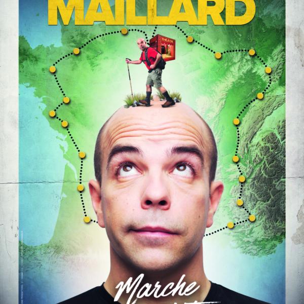 Visuel du spectacle ARNAUD MAILLARD